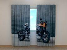 Fekete Harley Davidson motor