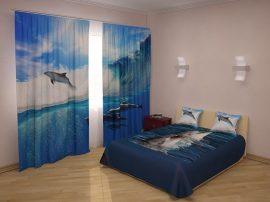 Delfinek és tenger