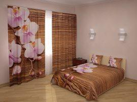 Orchideák és fa