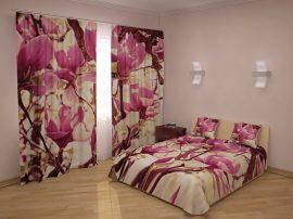 Rózsaszín magnóliák