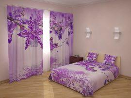 Ibolyaszín orchideák