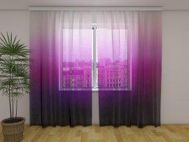 Lila színű ombre