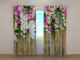 Virágok bambuszon