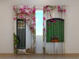 Virágok az ablakban