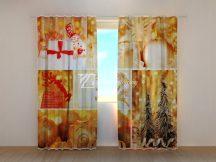 Arany karácsonyi kollázs