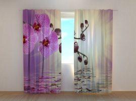 Halványlila orchideák
