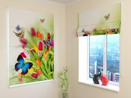 Tulipánok és pillangók