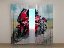 Piros Honda motor