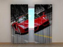 Piros szuper autó
