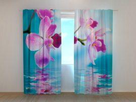 Ég kék orchideák