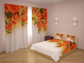 Naranszínű rózsák